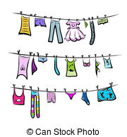 Clothesline Illustrations and Clipart. 2,235 Clothesline.