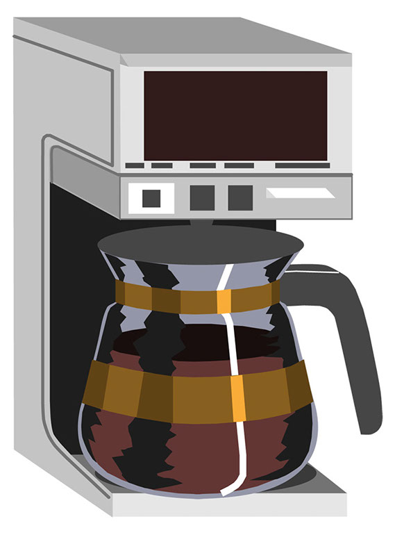 Coffee Pot Clipart Free.