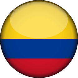 Colombia flag clipart.