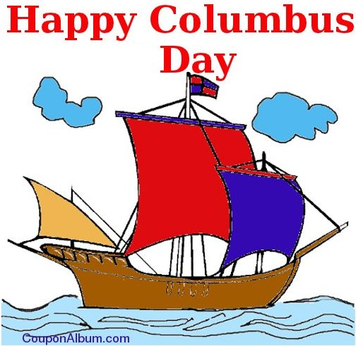 115 Columbus Day free clipart.