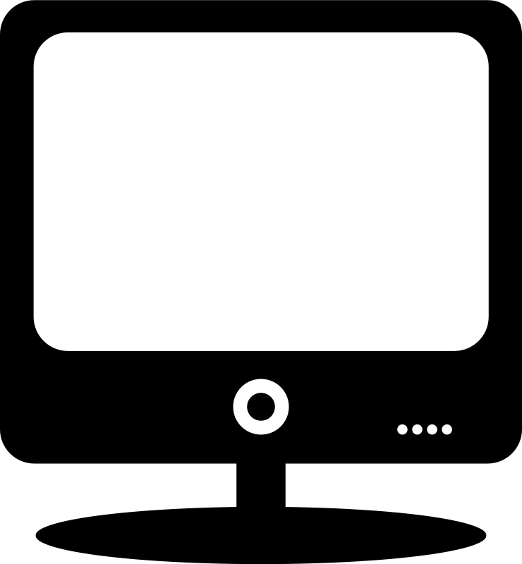 Free Clipart: Computer monitor.