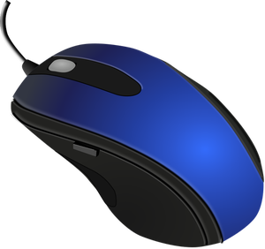 PC mouse vector illustration.
