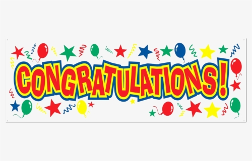 Free Congratulations Clip Art with No Background.