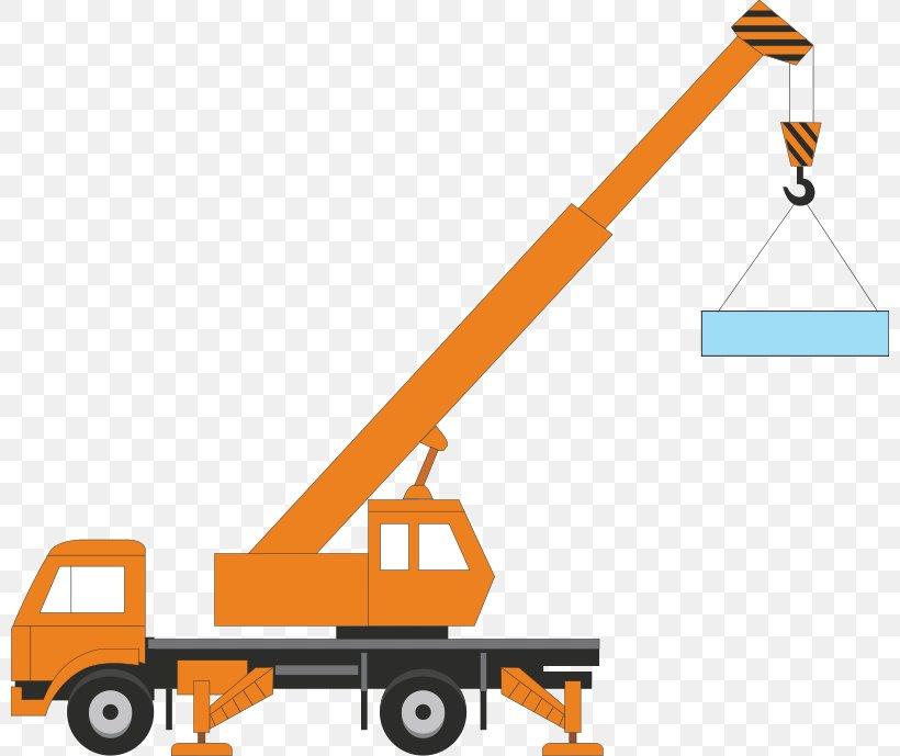 Crane Free Content Heavy Equipment Clip Art, PNG, 800x689px.