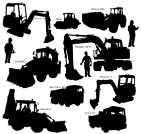 Free Construction Equipment Cliparts in AI, SVG, EPS or PSD.