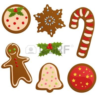 Christmas Cookie Exchange Clip Art.