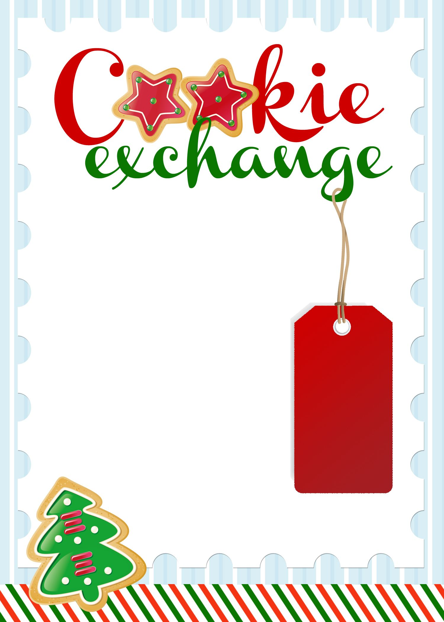 Cookie Exchange Party {free printables.