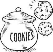Free Clipart cookie images.