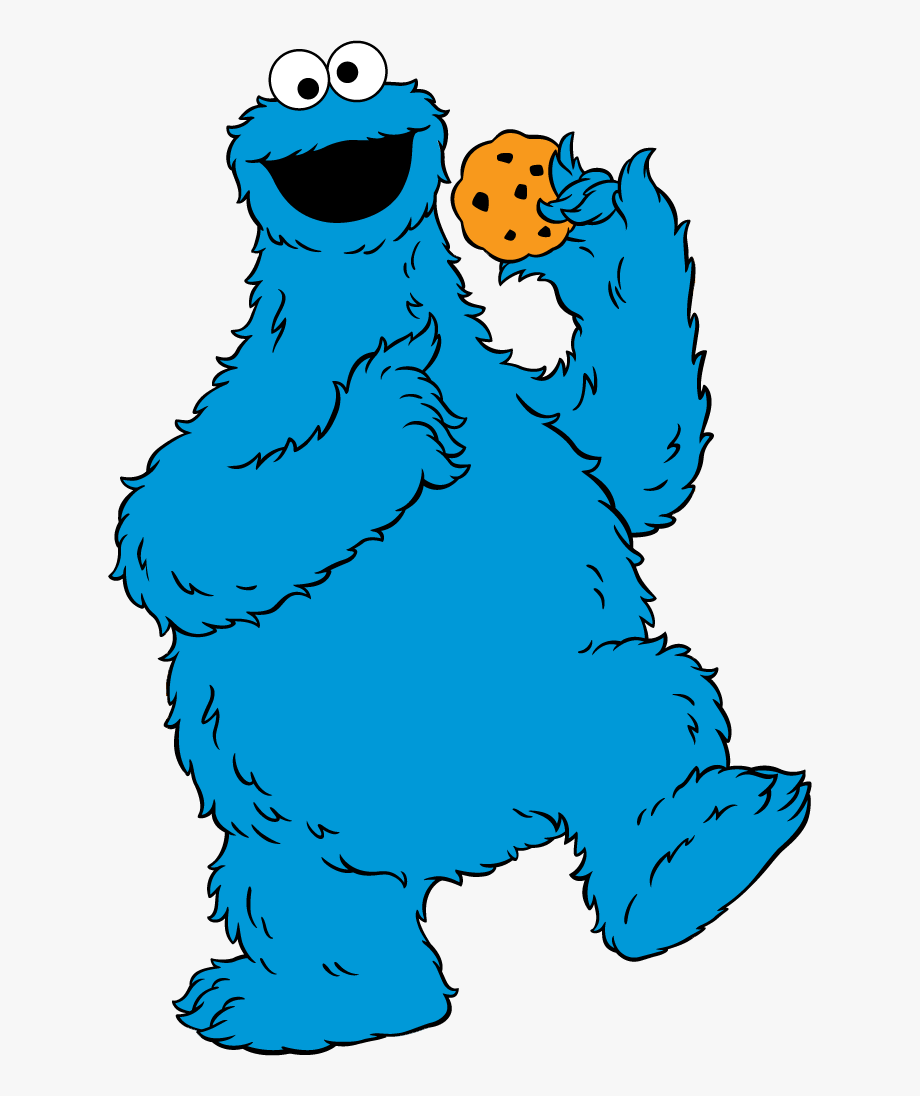 Cookie Monster Clip Art.