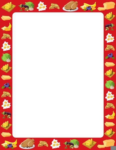 Free Cooking Border Clipart Images At Clker Com Vector Clip Alive.