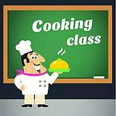 Cooking Class Clip Art.