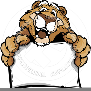 Free Cougars Clipart.