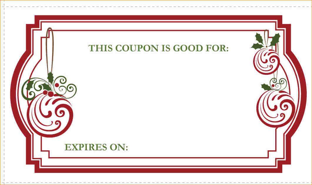 free blank coupon templates.