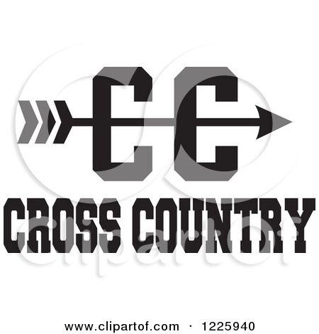 cross country arrow clipart clipground
