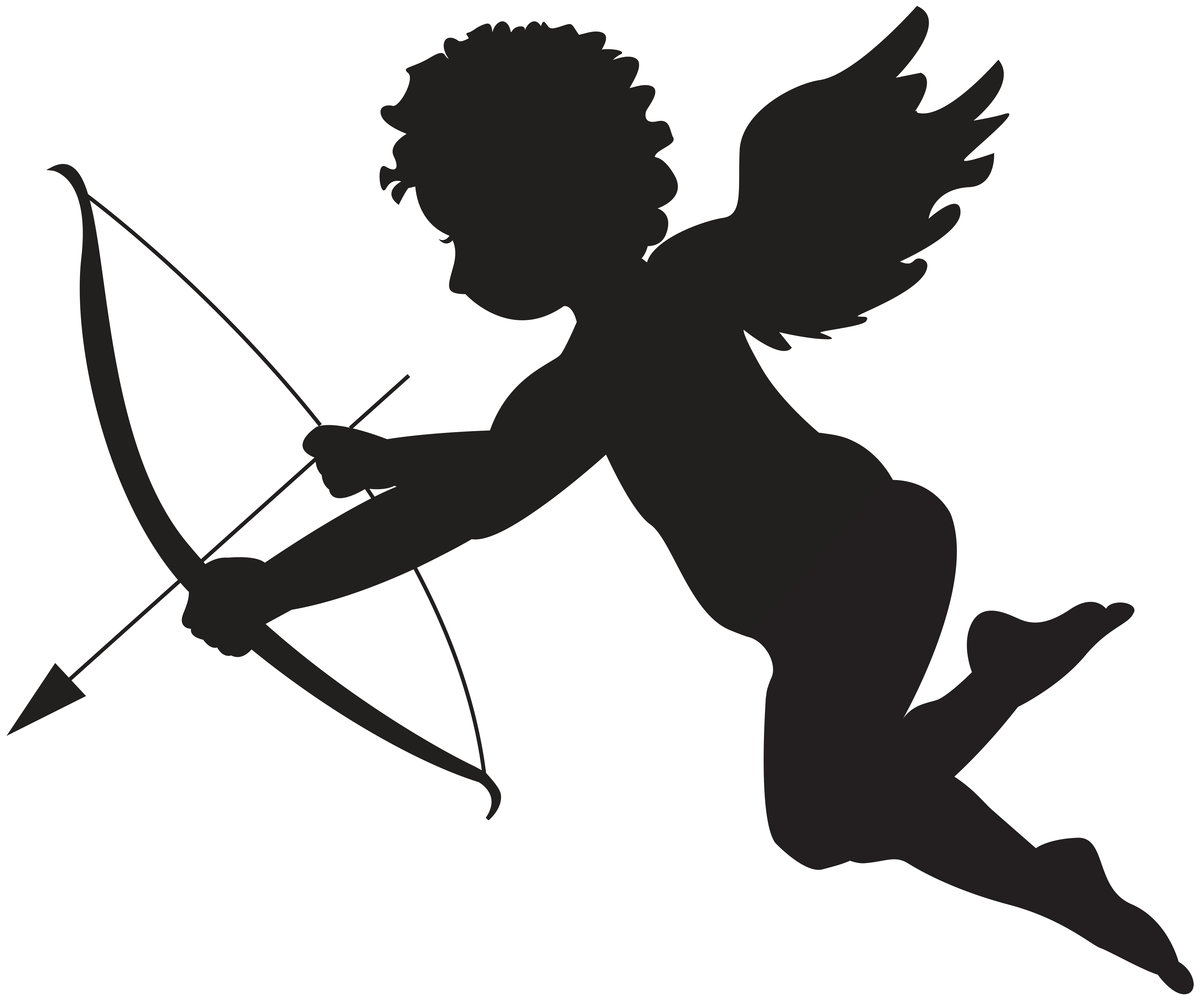 1264 Cupid free clipart.