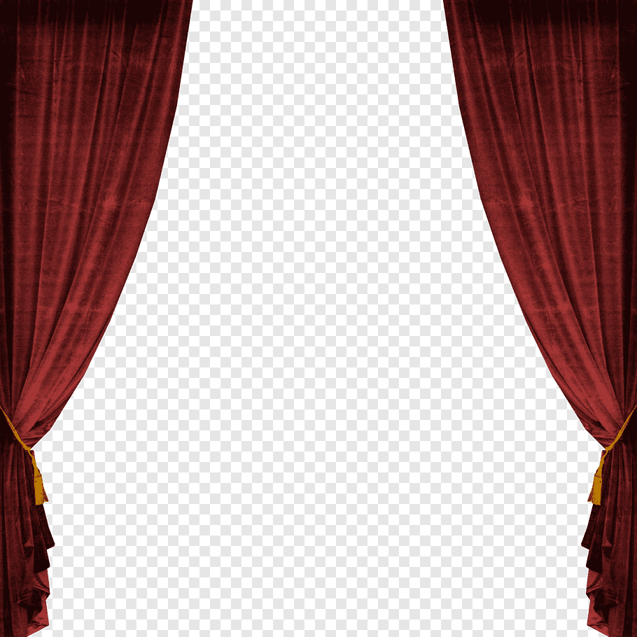 Red curtain, Theater drapes and stage curtains Window Light.