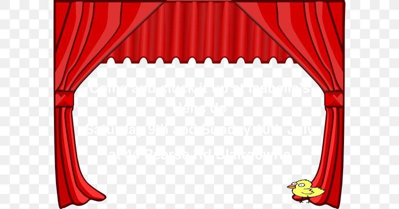Theater Drapes And Stage Curtains Clip Art, PNG, 600x431px.