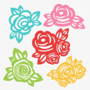 Flowers Of Svg Cut Files For Scrapbooking.