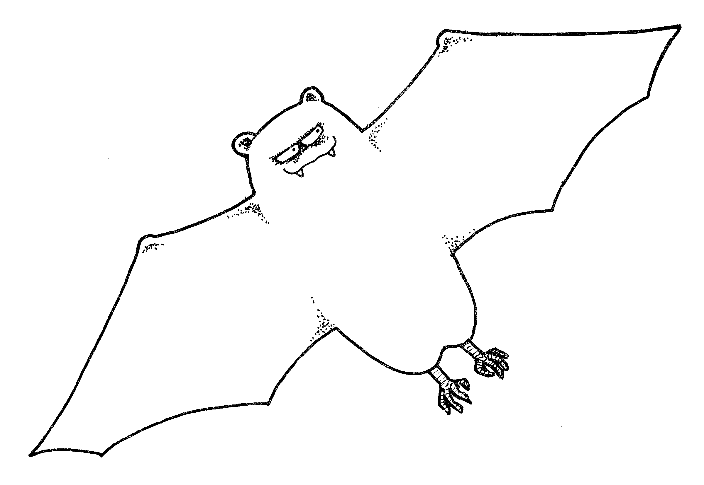 Cute Bat Clipart.