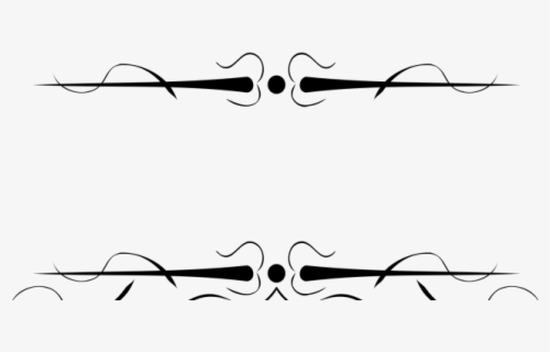 Free Decorative Lines Clip Art with No Background , Page 4.