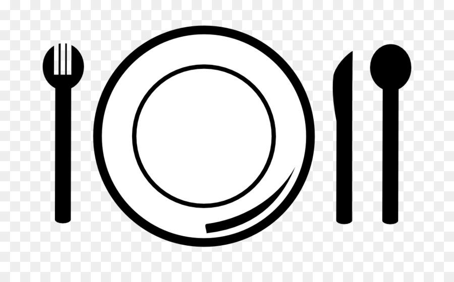 Download Free png Knife Napkin Fork Plate Clip art Dinner Plate.
