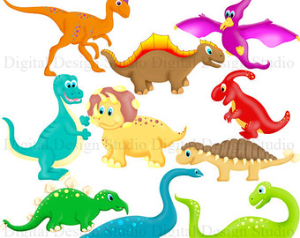 Dinosaur Clipart, Dinosaur Clip Art, Great for a Dinosaur.