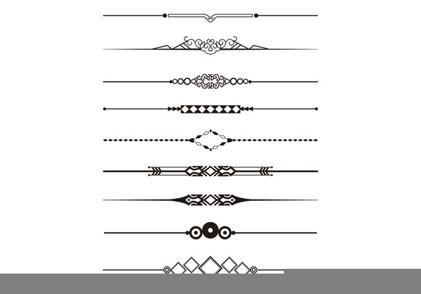 Free Clipart Decorative Divider.