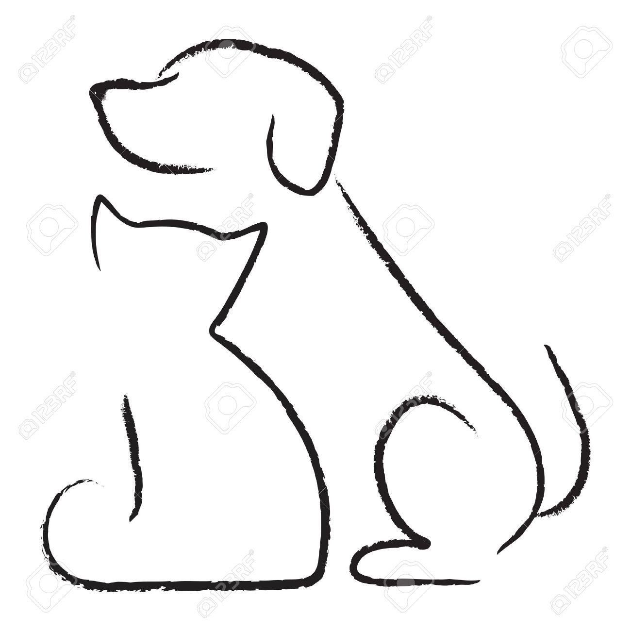 Dog cat icon.