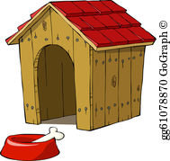 In The Dog House Clip Art.