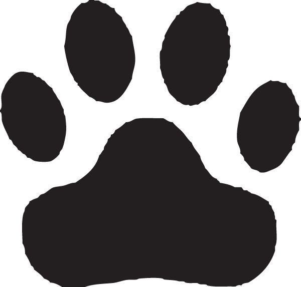 Animals Clipart Dog Paw Clipart Gallery ~ Free Clipart Images.