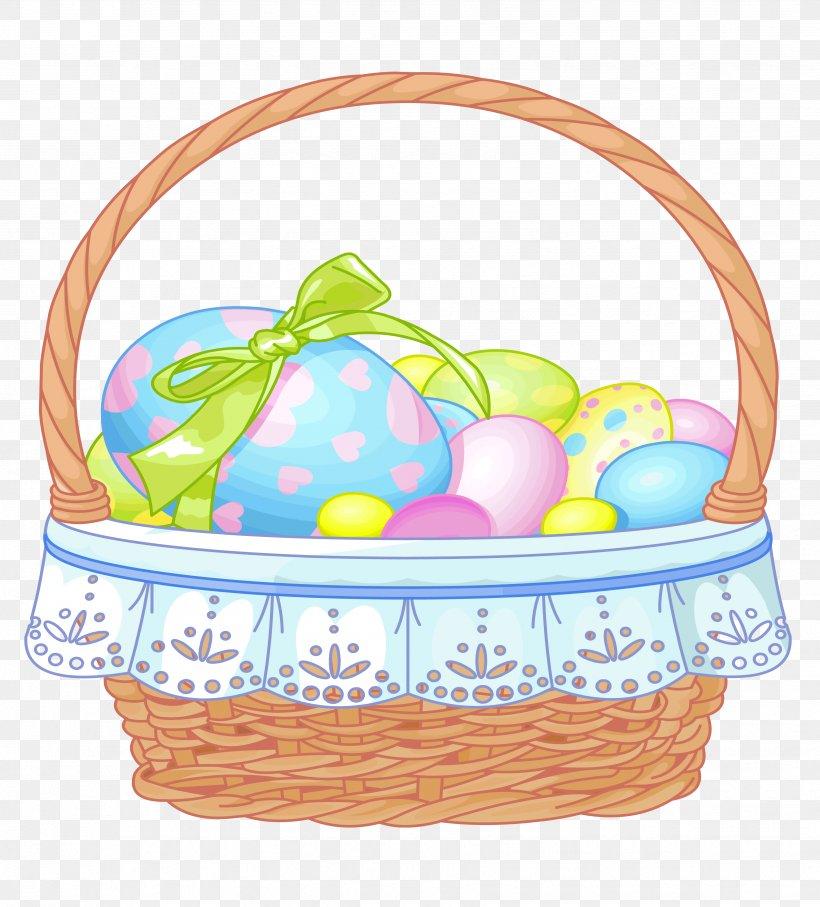 Easter Bunny Easter Basket Clip Art, PNG, 3467x3836px.