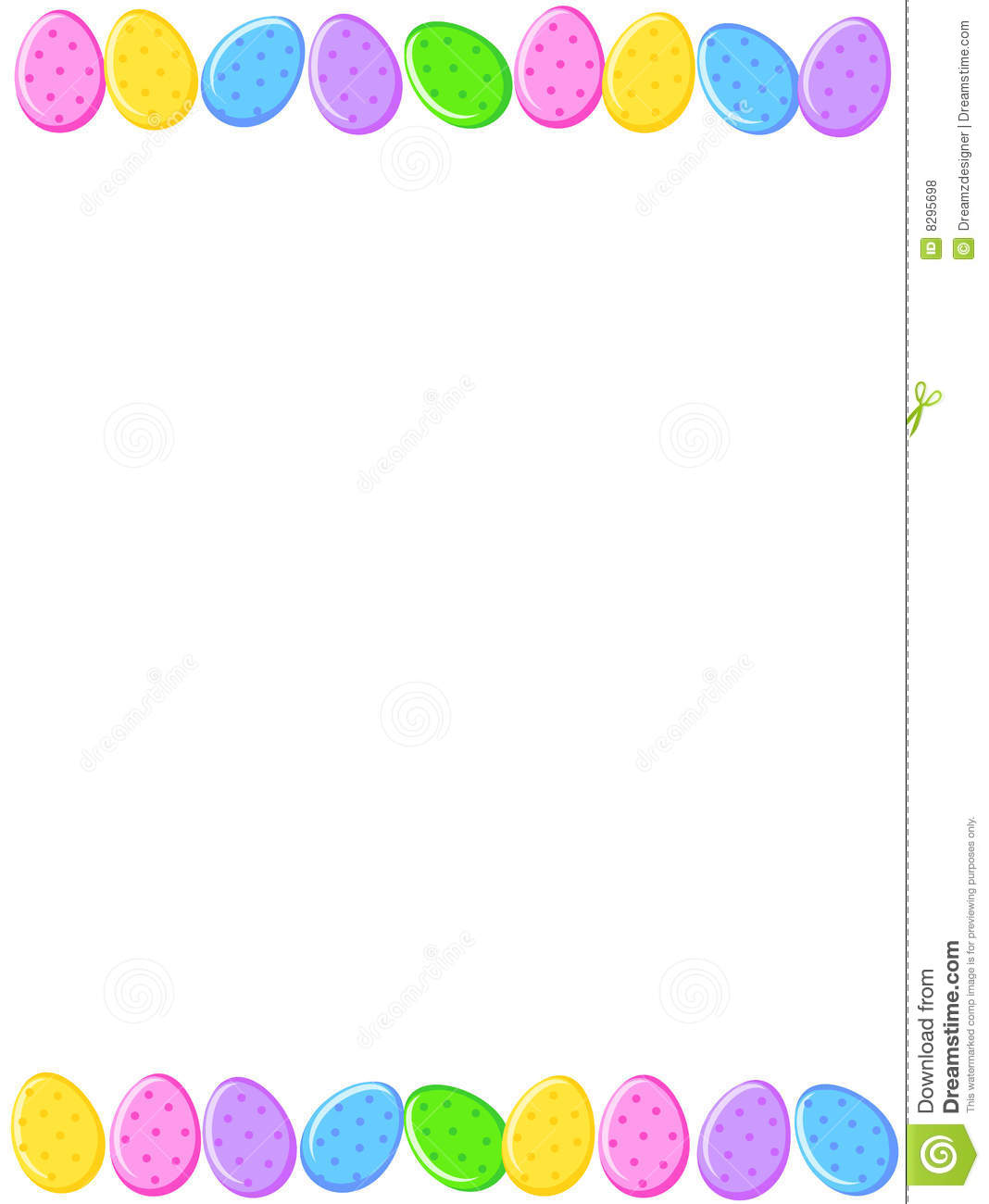 Free Easter Borders And Frames Clipart.