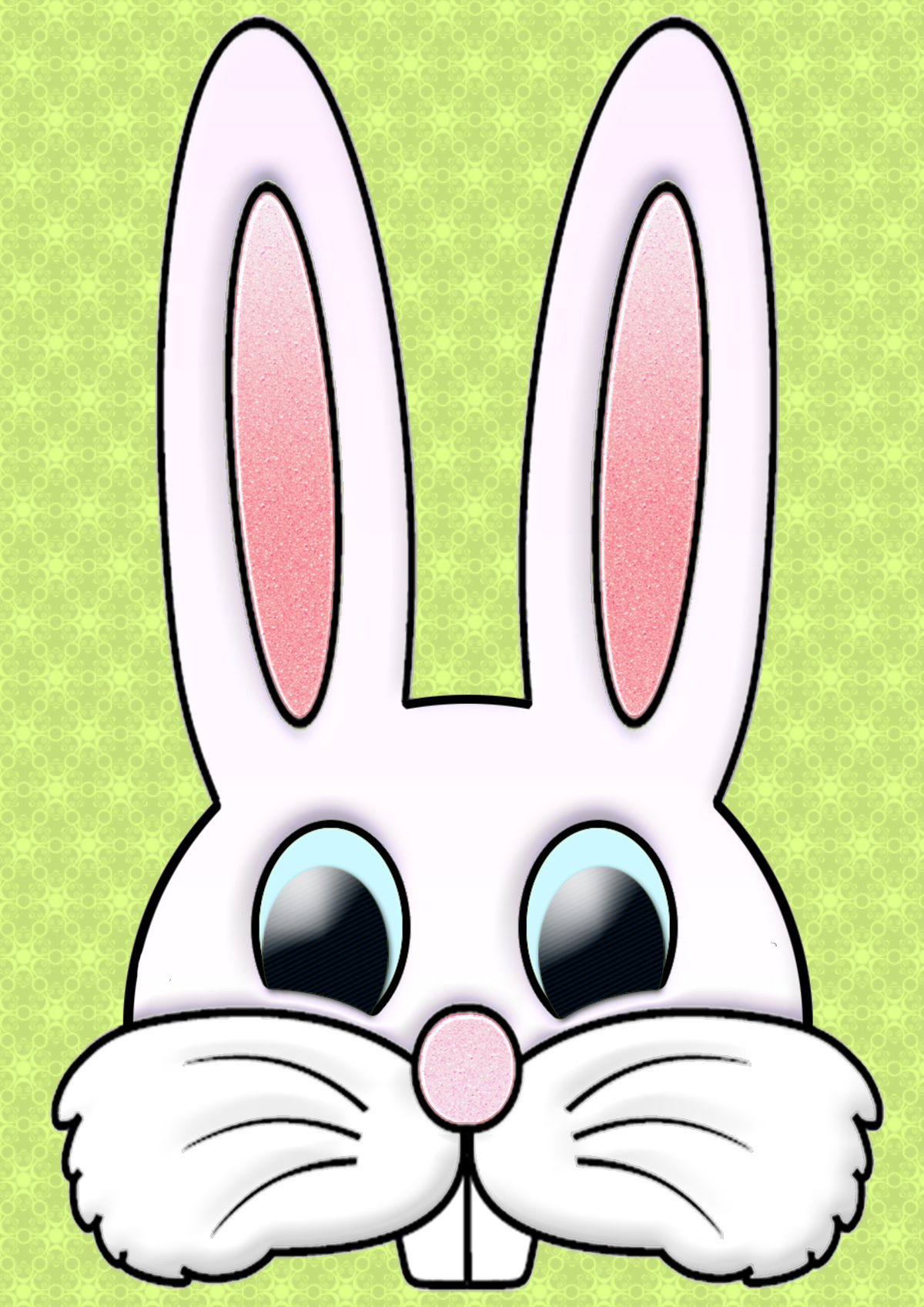 Easter Rabbit Clipart.