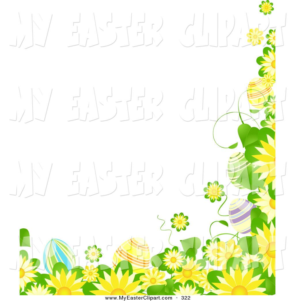 Elegant free easter flower clip art intended for your reference.