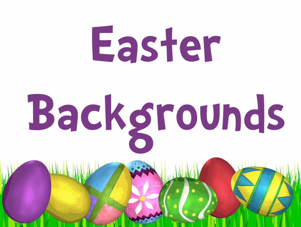 Religious Backgrounds Clipart Easter.