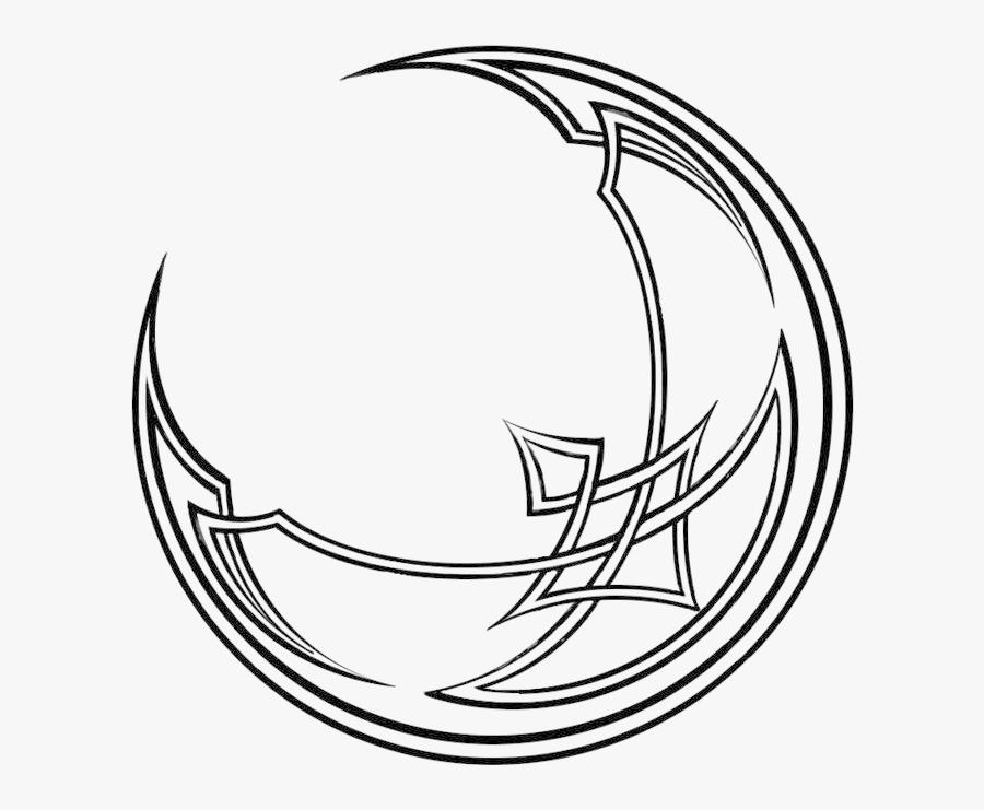 Celtic Moon Png.
