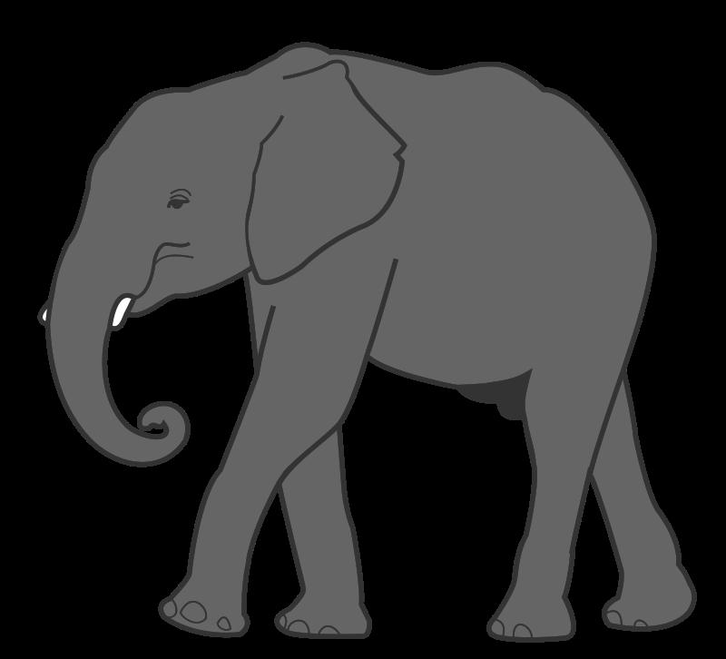 Free Clipart: Elephant.
