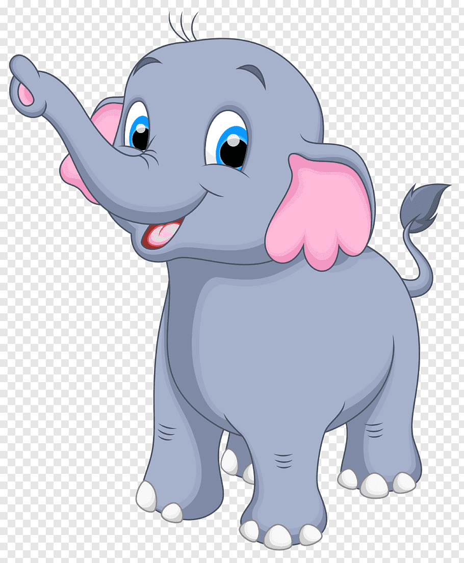 Elephant, Little Elephant, gray elephant illustration free.