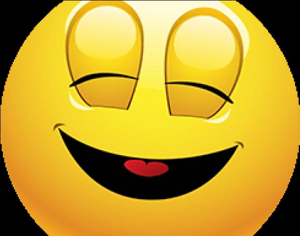 HD Blushing Emoji Clipart Blissful.