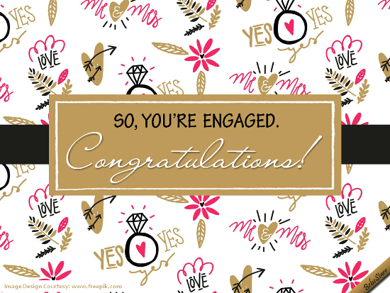Yes, Yes, Yes. Free Engagement eCards, Greeting Cards.