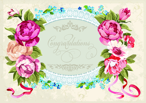 Engagement congratulation card free vector download (13,495.