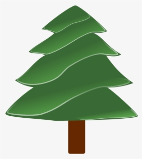 Free Evergreen Tree Clip Art with No Background.