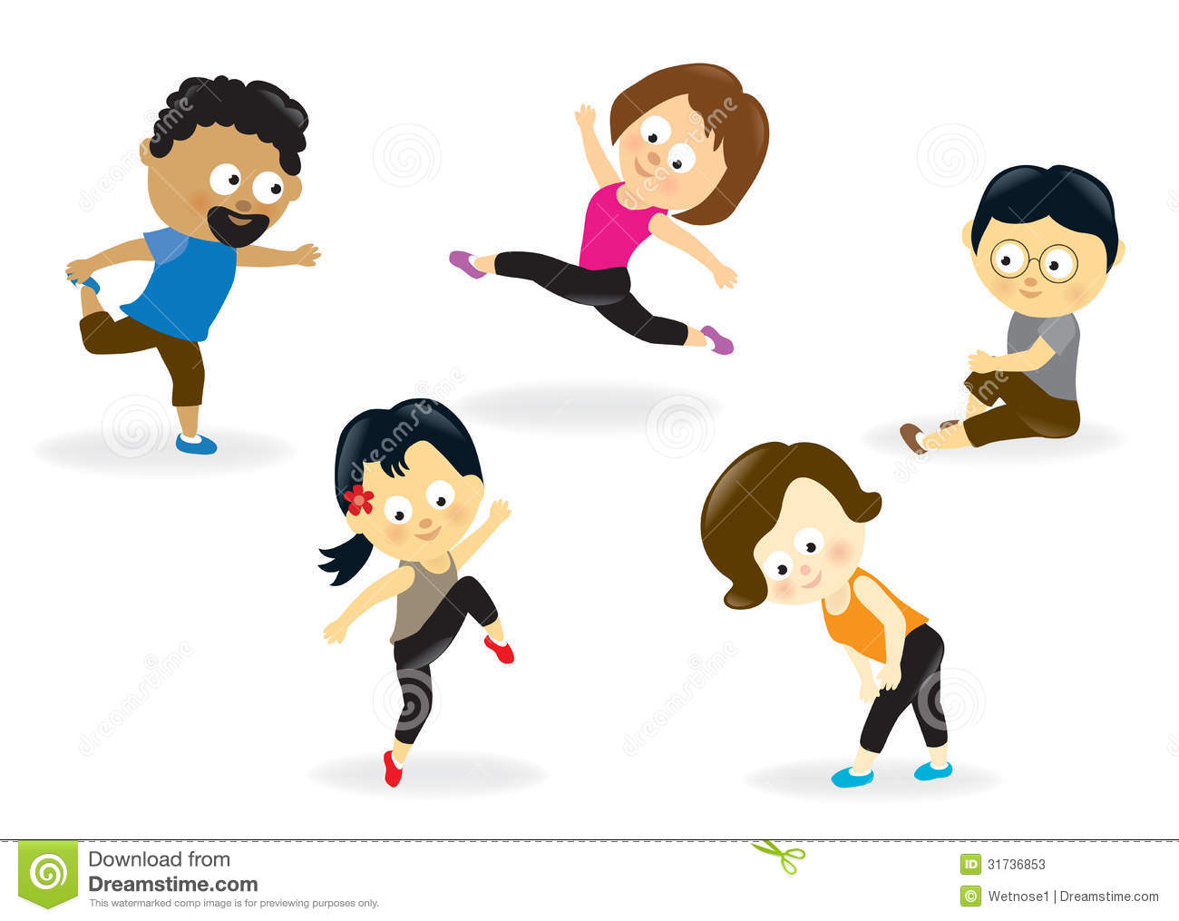 1357 Workout free clipart.