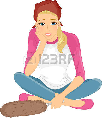 3,548 Tired Woman Stock Illustrations, Cliparts And Royalty Free.