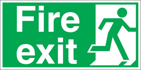 Collection of Exit clipart.
