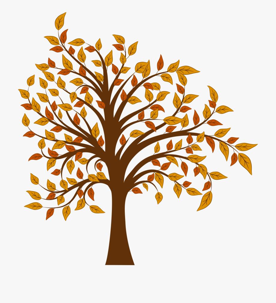 Fall Clipart Bare Fall Tree.