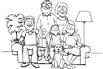 Free Clip Art Family.