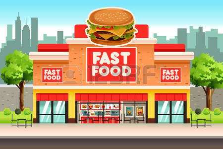 40,089 Fast Food Restaurant Stock Vector Illustration And Royalty.