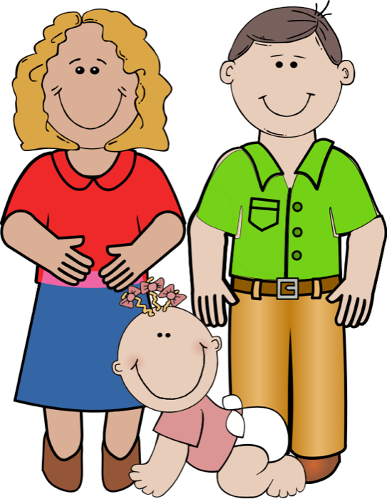 Mother And Father Clipart Free Clipart Images.