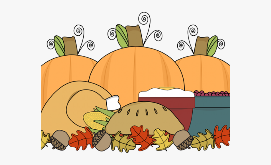 Thanksgiving Food Clipart Transparent , Png Download.